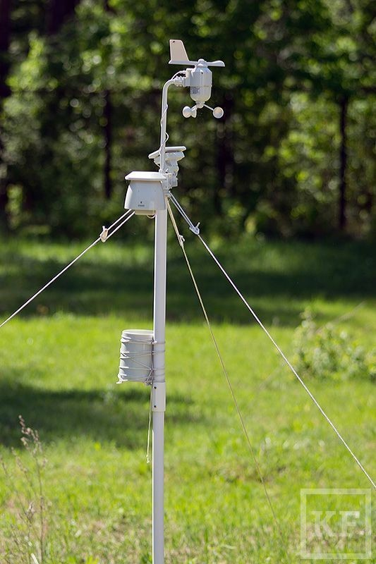 Собственная метеостанция появилась у национального парка «Нижняя Кама» Елабужского района