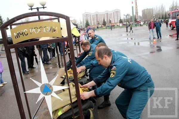 Управление МЧС по Татарстану признано лучшим среди территориальных органов МЧС РФ