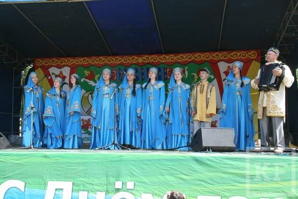 Делегация Чистополя представила Татарстан на Сабантуе в Тольятти