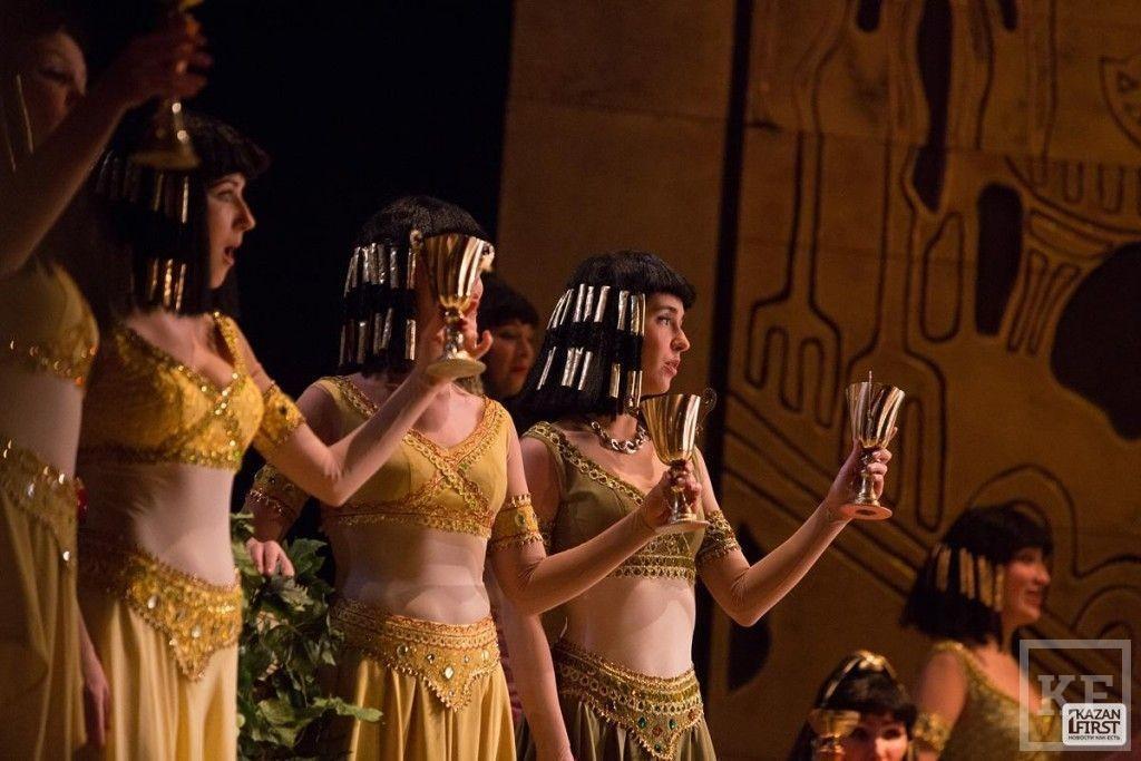 Опера «Аида» на Шаляпинском фестивале в Казани