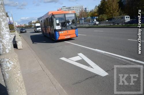 В мае в Челнах снова появятся выделенные полосы для автобусов. Это не первый опыт, однако, успехом прежние попытки не увенчались