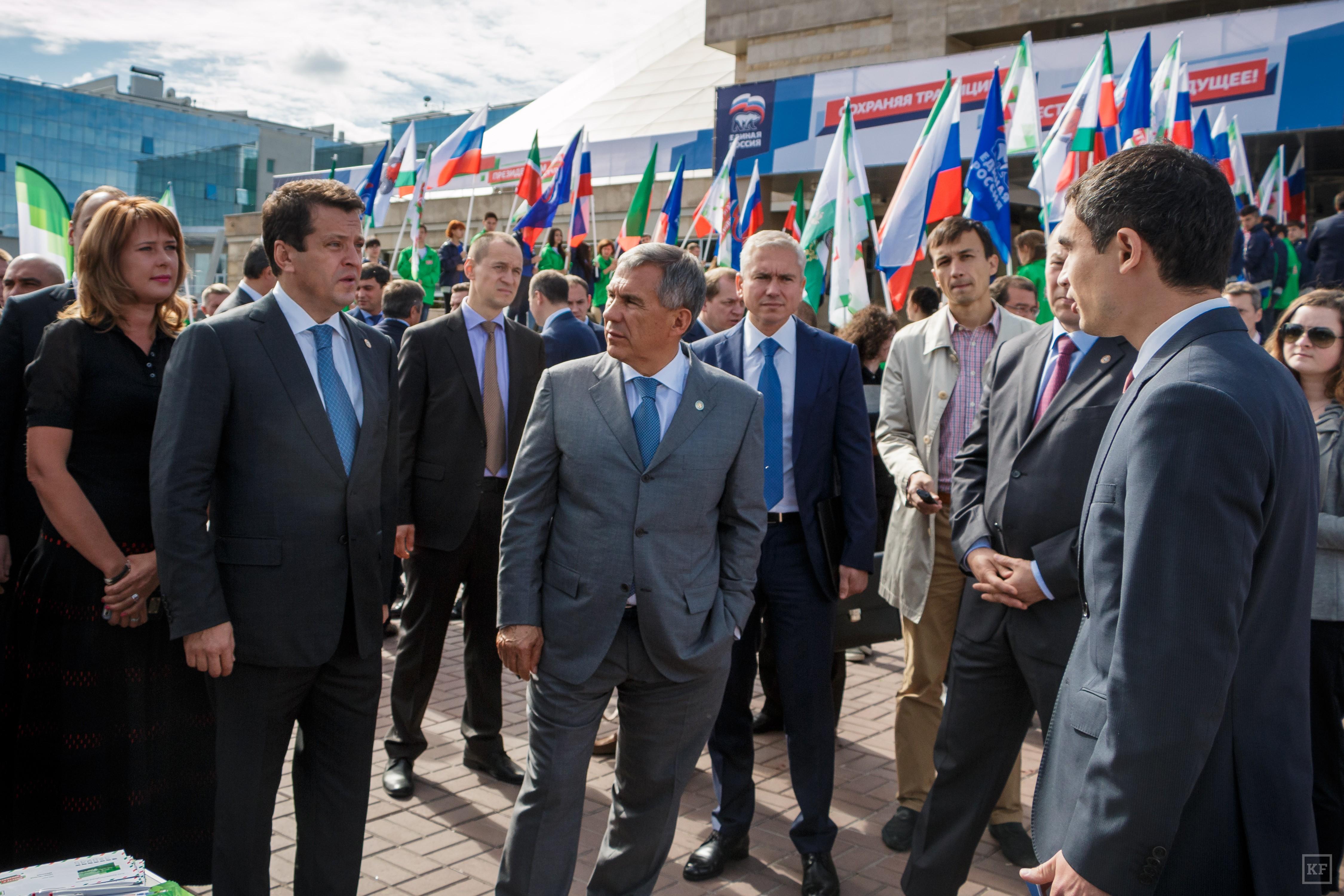 Рустам Минниханов: «Татарстан — это не нахлебник какой-то, кому дают какие-то деньги, за счет федеральных денег он развивается»