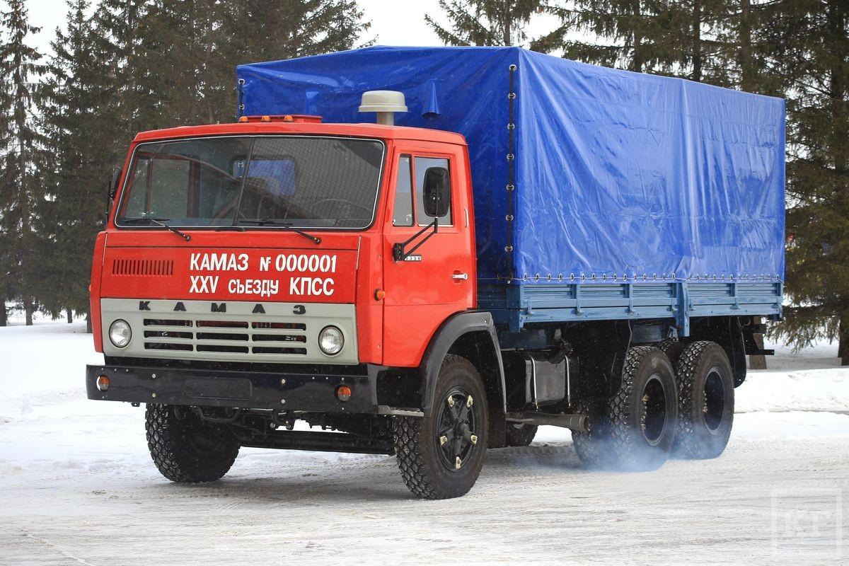 «Камаз» празднует юбилей выпуска первого грузовика