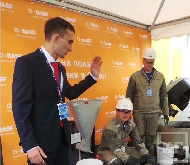 Минниханов выложил в Instagram фотографии с открытия производственной площадки BASF