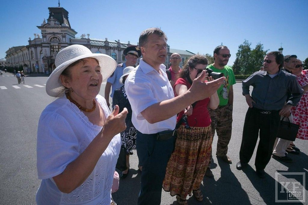 Автопробег сотрудников радиостанции «Эхо Москвы» прошел в Казани