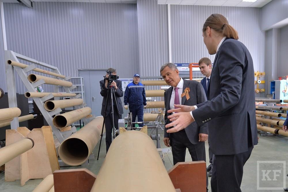 Минниханов посетил технологический центр компании TGT Oilfield Services