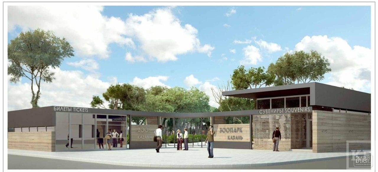 В новой части зоопарка Казани уже начинается внутренняя отделка зданий