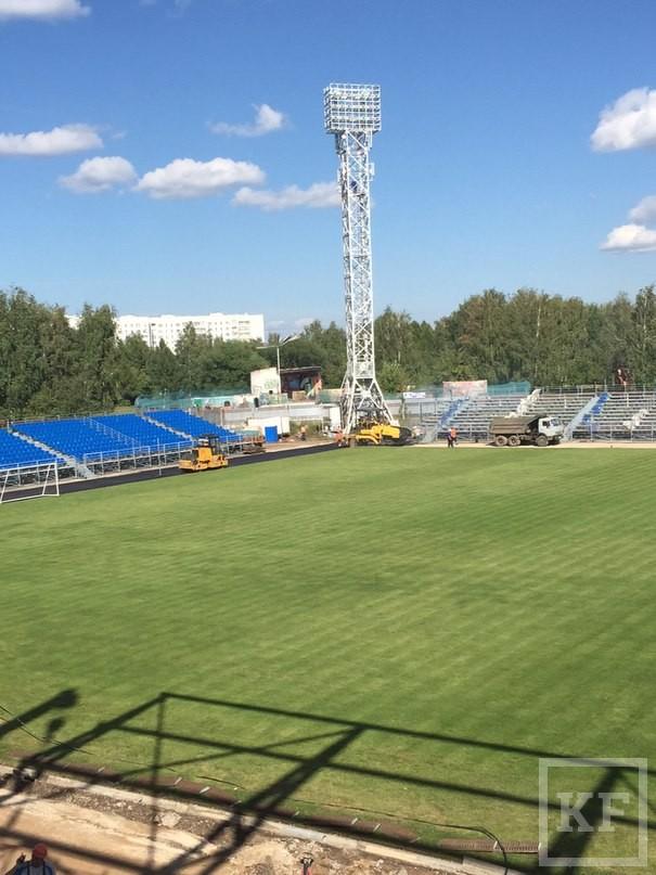 На стадионе «Камаз» в Челнах пройдет первый матч