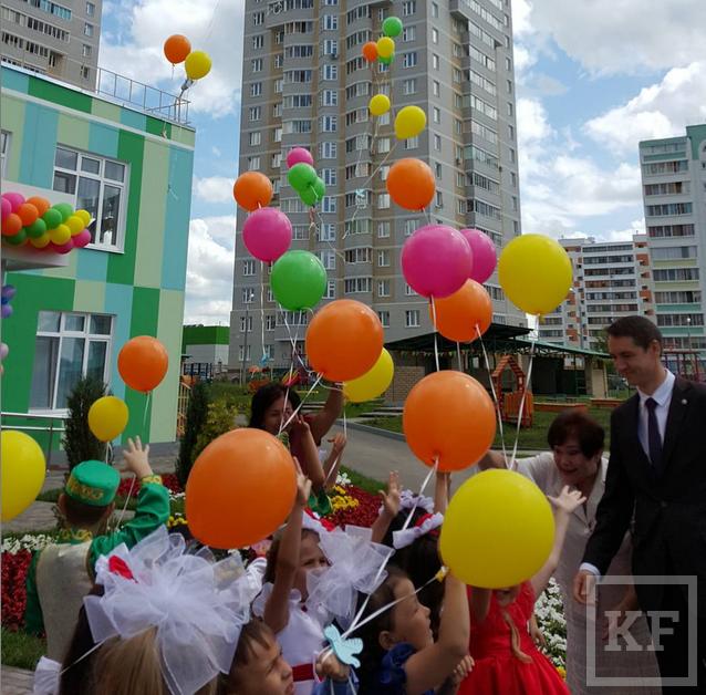 Минниханов открыл в Набережных Челнах детсад на 240 мест