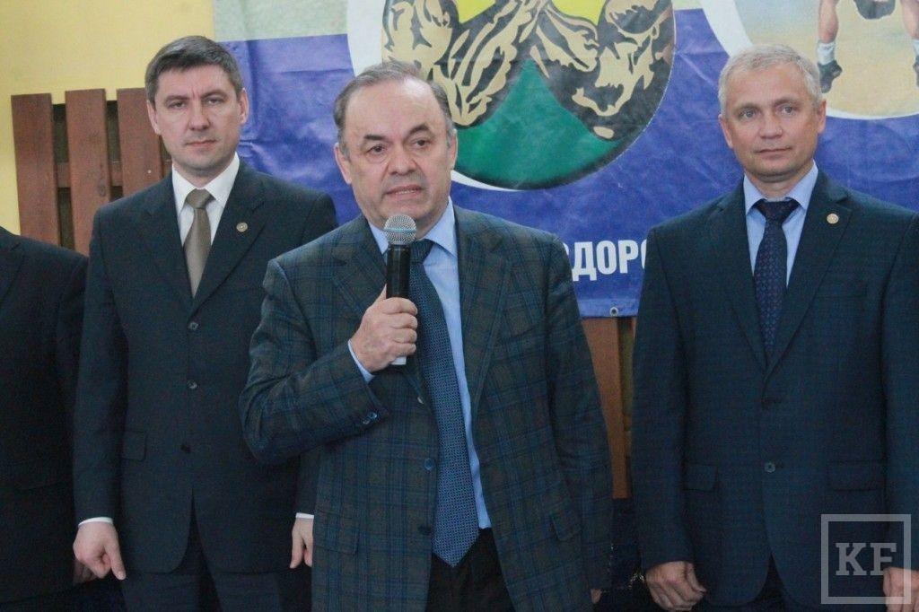 В Чистополе состоялся Чемпионат РТ по греко-римской борьбе
