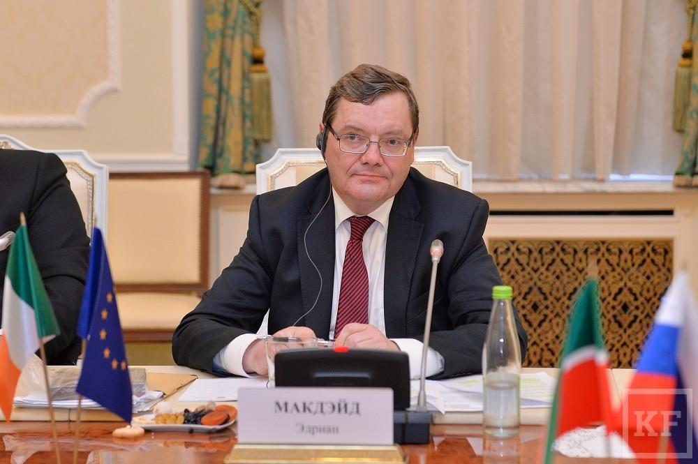Минниханов: руководство республики поддержит ирландский бизнес в Татарстане