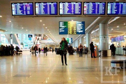 В Казанском аэропорту задерживают междугородний рейс на 14 часов