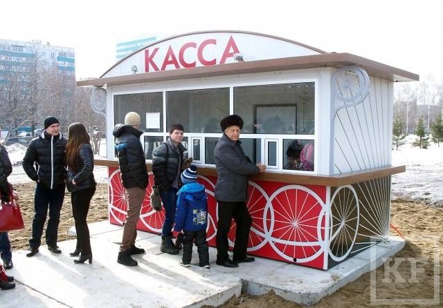 Билет на новое колесо обозрения в Челнах для взрослого обойдется в 150 рублей