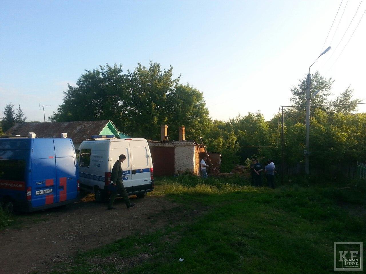 В Татарстане неизвестные подожгли дом, чтобы скрыть убийство семьи