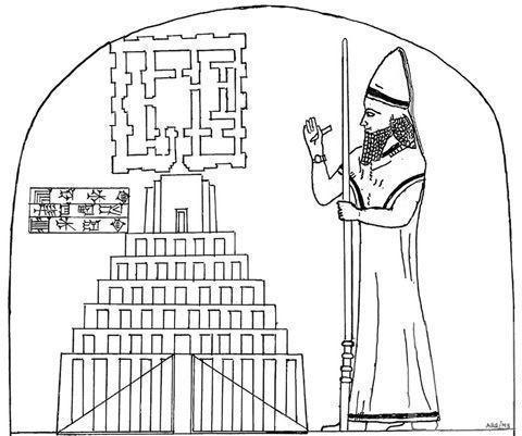 В частной коллекции норвежского бизнесмена найден древний чертёж Вавилонской башни