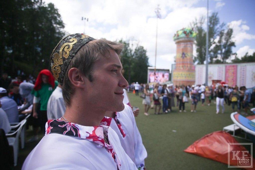 Сабантуй в Казани