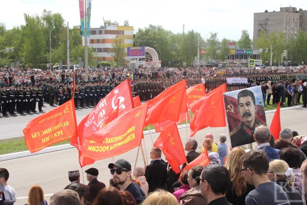 Коммунисты Челнов пострадали за право первыми возложить цветы к Вечному огню в День Победы