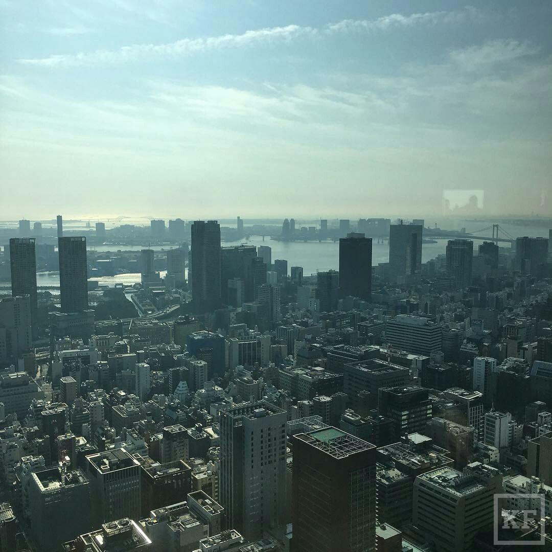 Минниханов «Вконтакте»: Япония