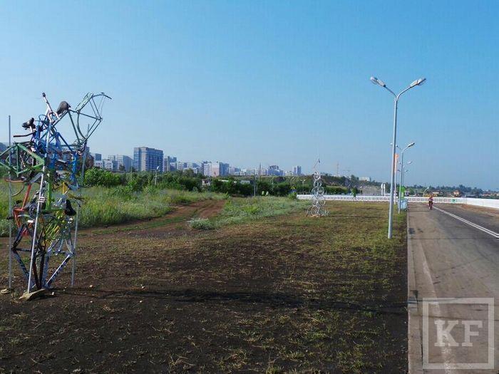 Василь Шайхразиев провел выездное совещание по благоустройству городской Набережной