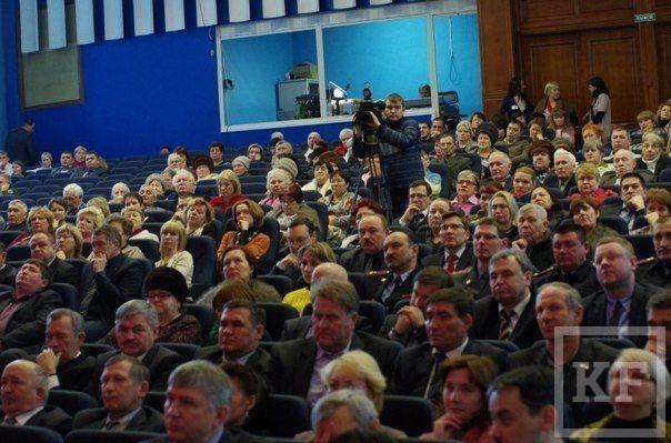 Чудо на совещании мэра Набережных Челнов с активом города