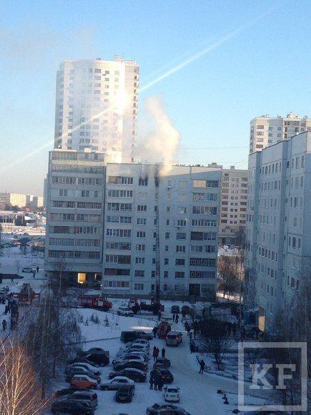В Челнах из-за пожара в 14 комплексе отсутствует электричество