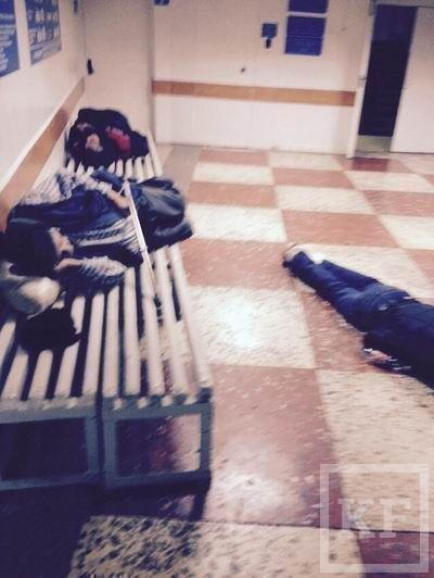 В приемном покое больницы в Набережных Челнах ночуют пьяные горожане - СМИ