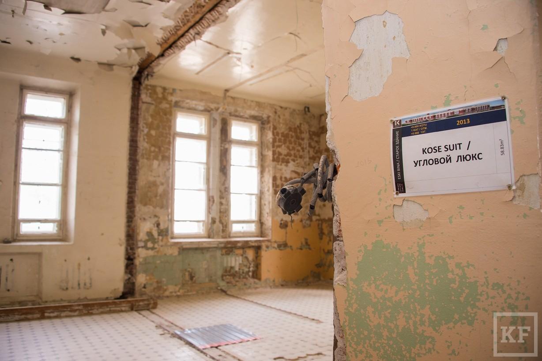 Турецкие инвесторы показали Рустаму Минниханову проект перестройки бывшей Шамовской больницы в гостиницу