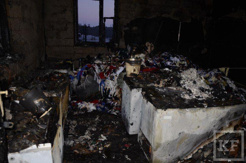 В приюте для бездомных собак в Казани сгорели все запасы еды