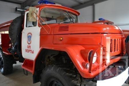 В Елабужском районе открылось пожарное депо, которое будет обслуживать трассу М7