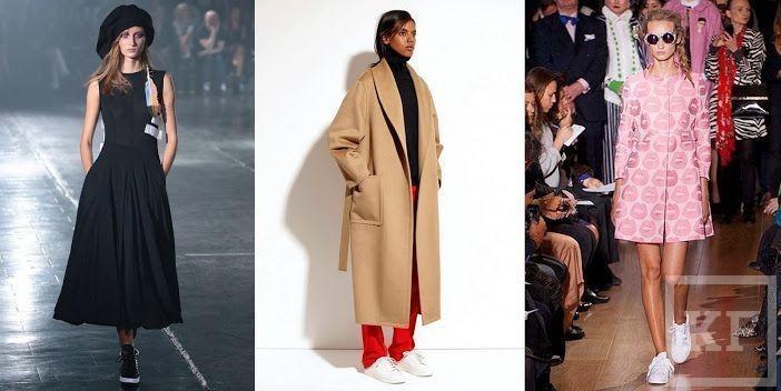 Тренды этой весны: злой взгляд больше не в моде, а вот пальто с кроссовками — последний писк!