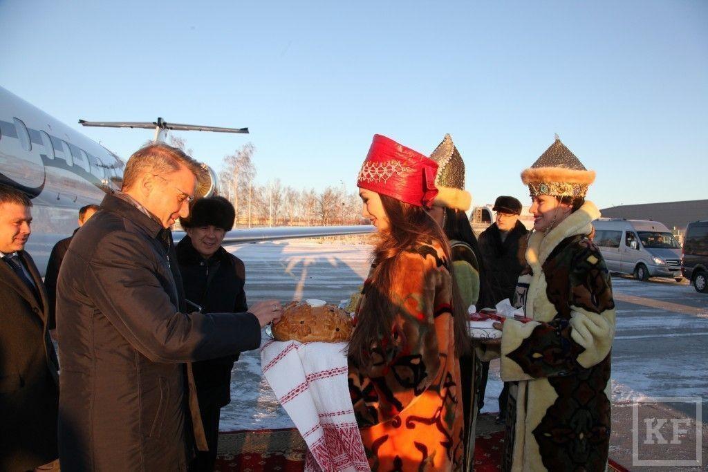 В Казань с рабочим визитом прибыл Герман Греф