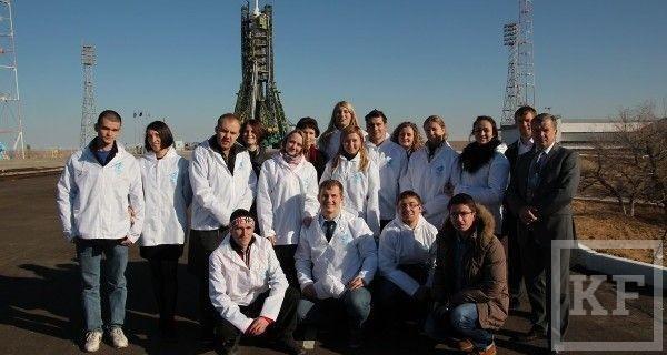 Победительница проекта «Кадровый резерв Республики Татарстан» присутствовала при запуске Олимпийского огня в космос