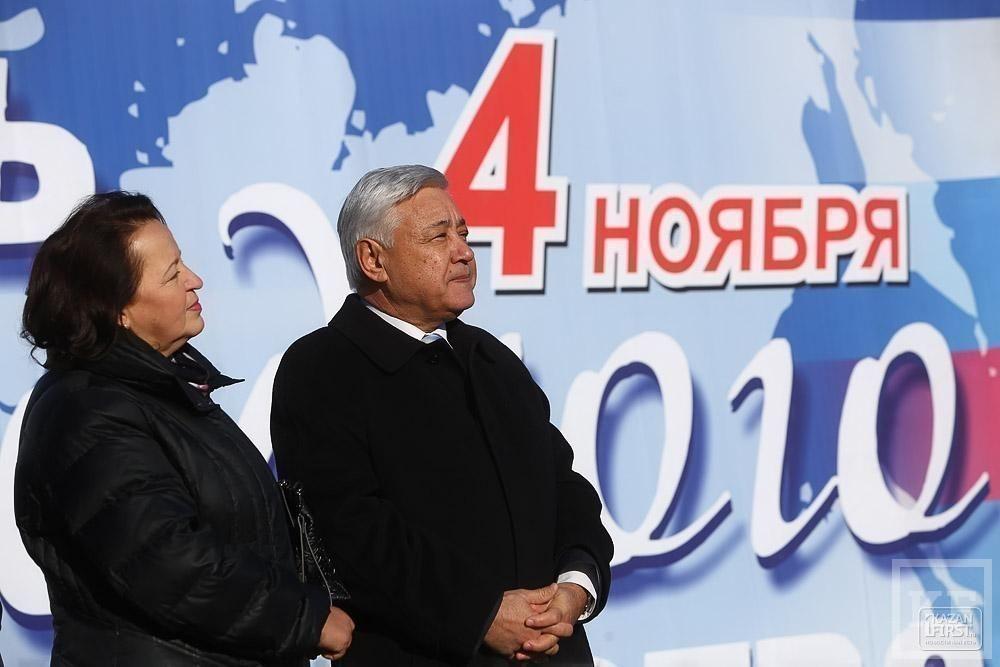 День народного единства собрал в Казани тысячи человек