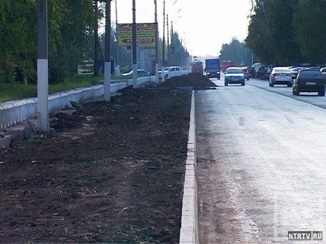 $3,5 млн потратили на ремонт 3 км дороги в поселок Строителей в Нижнекамске