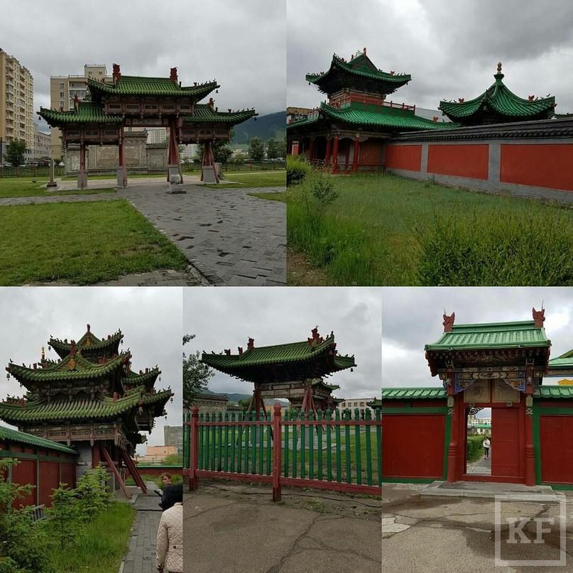 Минниханов «Вконтакте»: зимний дворец Богдо-Хана в Улан-Баторе