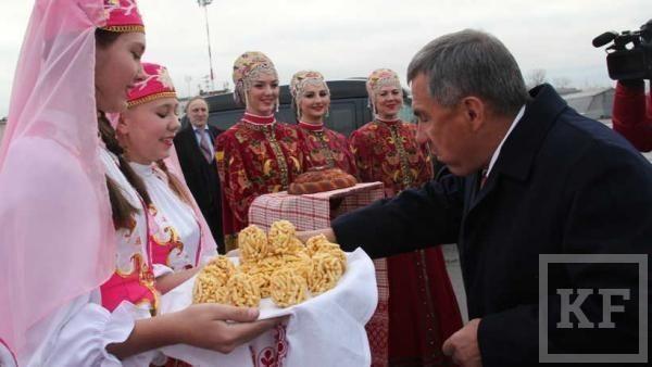 Рустам Минниханов посетил Архангельскую область