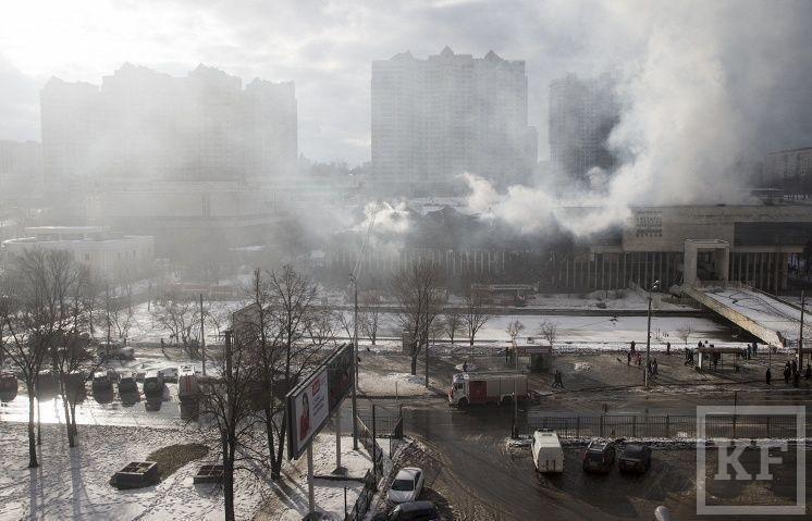 Библиотека ИНИОН потеряла в результате пожара 2,32 млн книг и других изданий
