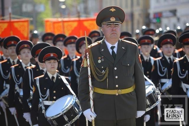 В Казани состоялся парад в честь Дня Победы