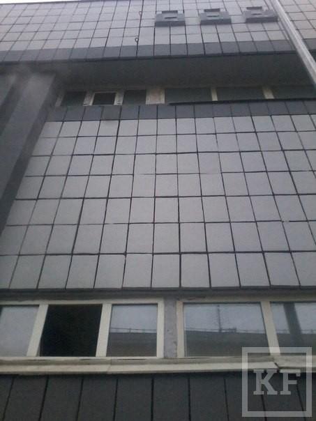В здании «Комбината здоровья» в Казани произошел пожар