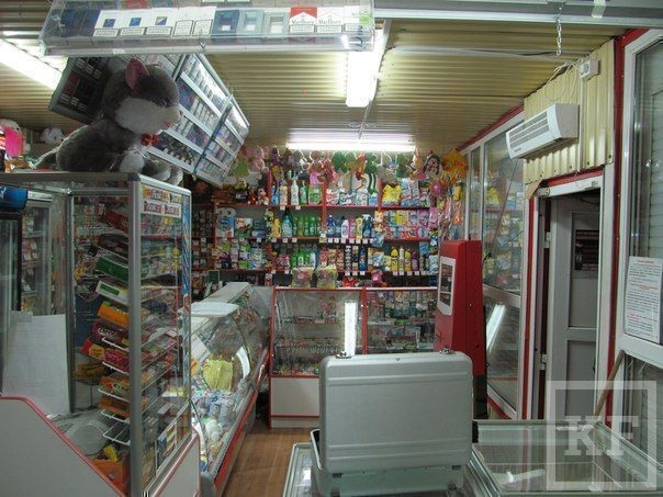 Школьники обокрали два магазина в Нижнекамске