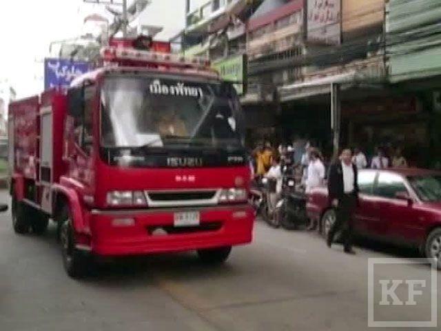 В Таиланде горит центр курортного города Паттайя