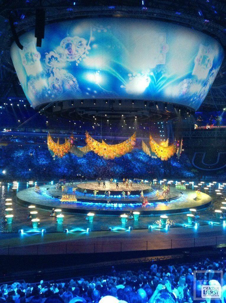 Открытие Универсиады: красочное шоу с Казаном и башней Сююмбике (фото)