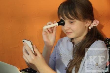 Бизнесмен из Челнов создал прибор для проверки зрения в домашних условиях