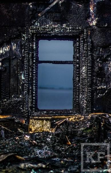 На месте сгоревшего в Челнах дебаркадера волонтеры планируют организовать арт-пространство