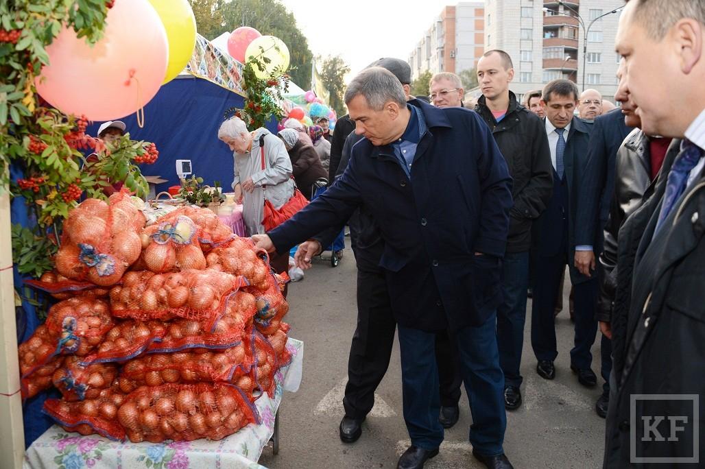 На ярмарках сельхозпроизводители получают прибыль, которую у них отнимают торговые сети