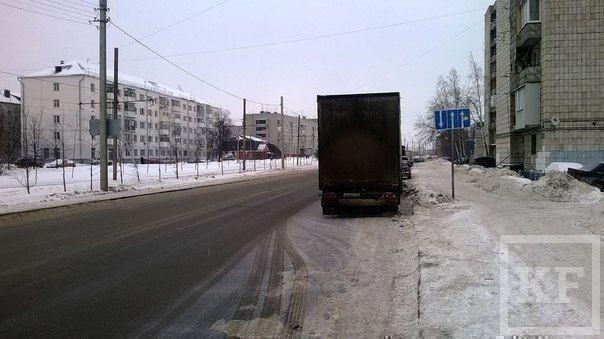 В Казани появилась смертельная ловушка для автомобилистов