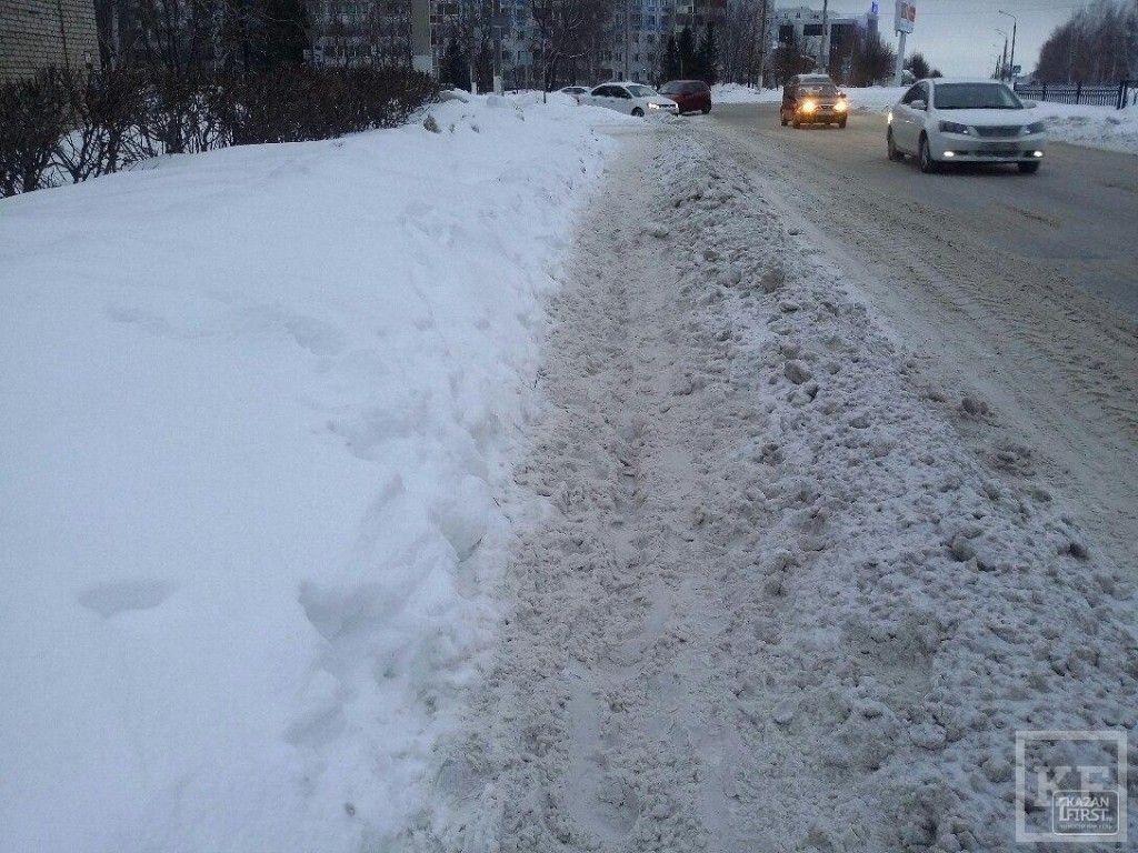 Нижнекамские коммунальщики: счет 1:0 в пользу снега