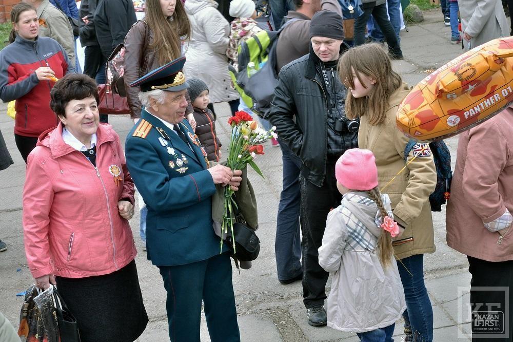 В Набережных Челнах отметили 70-летие Победы