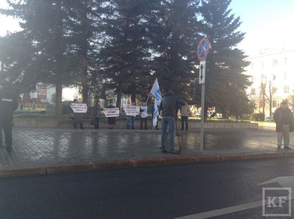 В Казани Трудовая Партия России провела пикет
