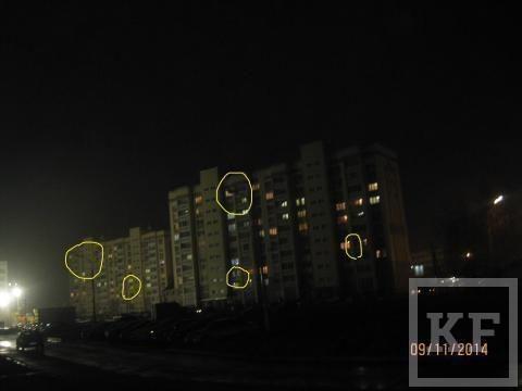 На некоторых улицах Нижнекамска не горят фонари – «Народный контроль»
